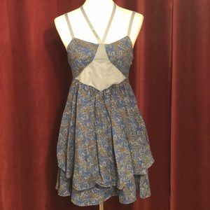 Free People Flower Print Dress